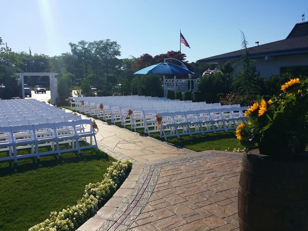 Wedding at Crystal Point Yacht Club by NJ Wedding Officiant Andrea Purtell