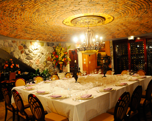 Buona Sera wine cellar photo from their website
