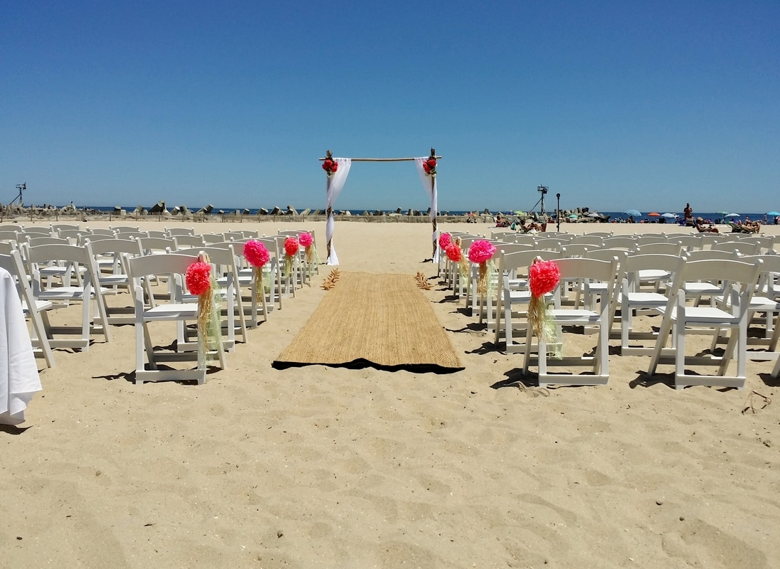 Wedding at Jenkinsons Boardwalk by NJ Wedding Officiant Andrea Purtell