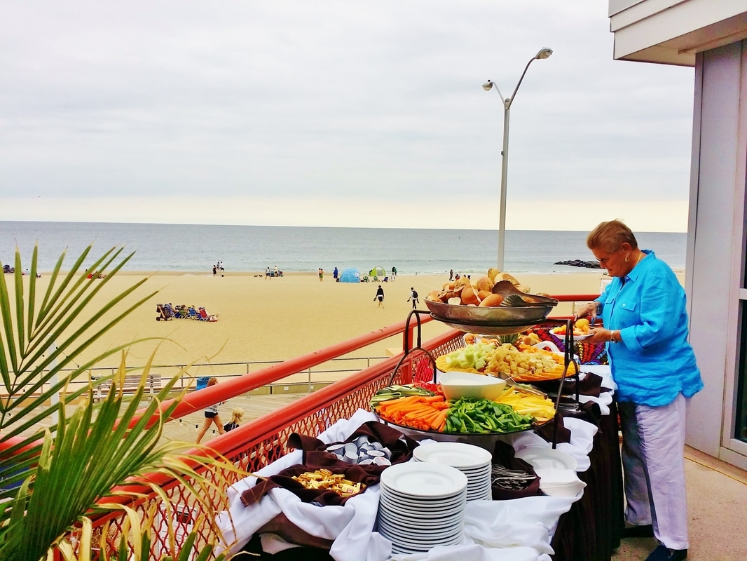 Wedding at Mcloones Asbury Park by NJ Wedding Officiant Andrea Purtell