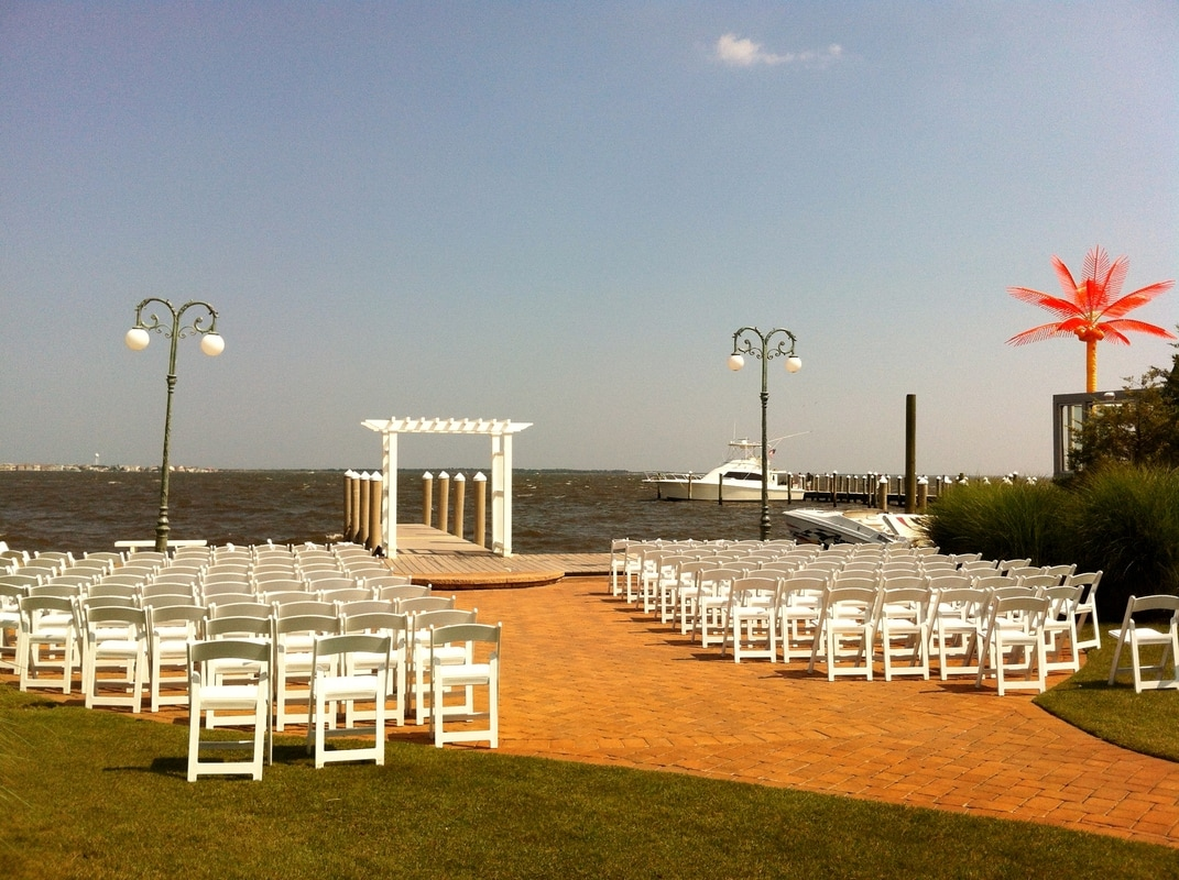 Wedding at Waters Edge by NJ Wedding Officiant Andrea Purtell