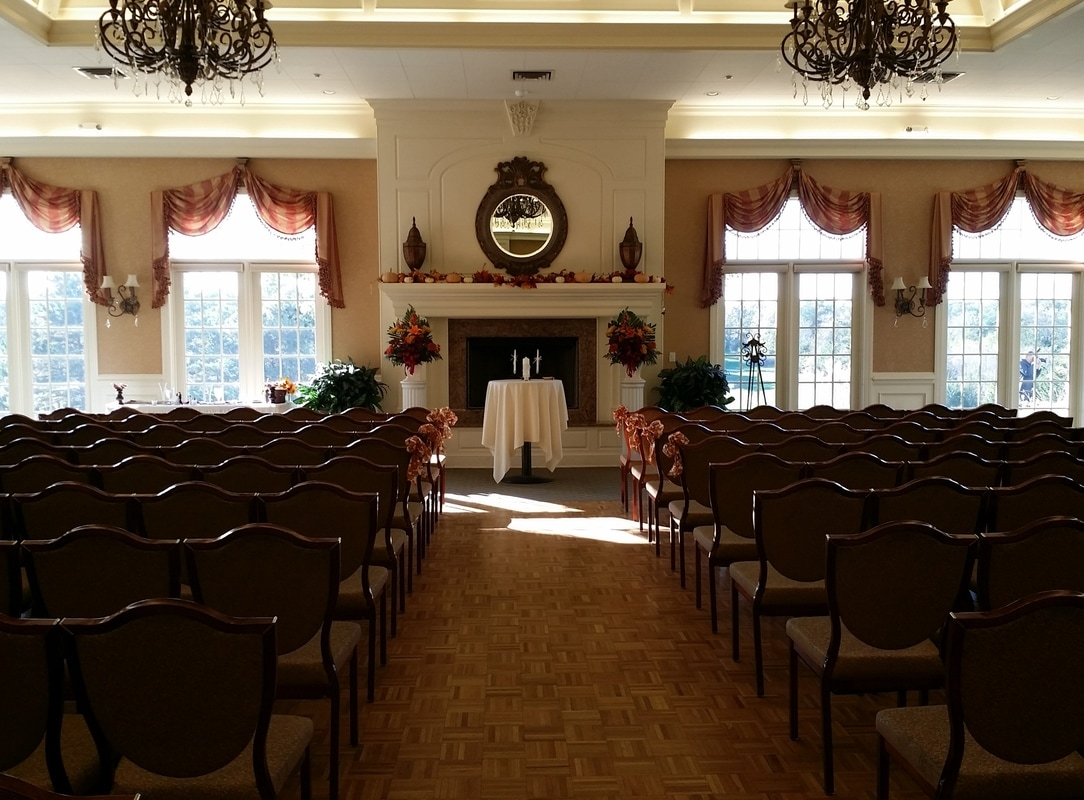Wedding at Eagle Ridge by NJ Wedding Officiant Andrea Purtell www.forthisjoyousoccasion.com
