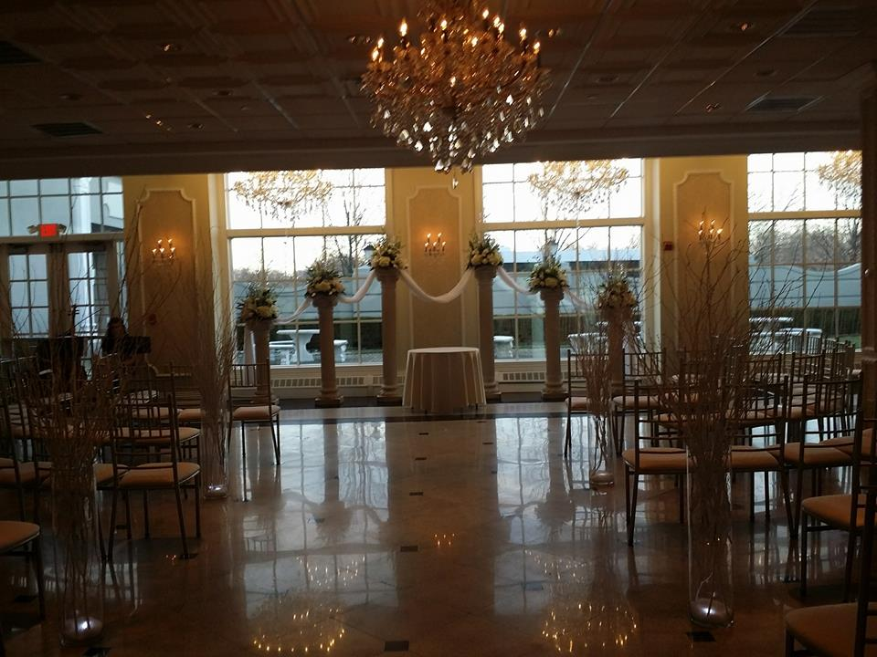 Wedding at Addison Park by NJ Wedding Officiant Andrea Purtell www.forthisjoyousoccasion.com