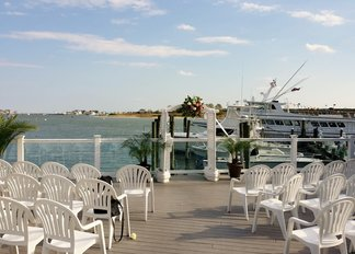 Wedding at Brielle River House by NJ Wedding Officiant Andrea Purtell www.forthisjoyousoccasion.com