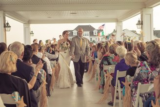 Wedding at Spring Lake Bath and Tennis Club by NJ Wedding Officiant Andrea Purtell