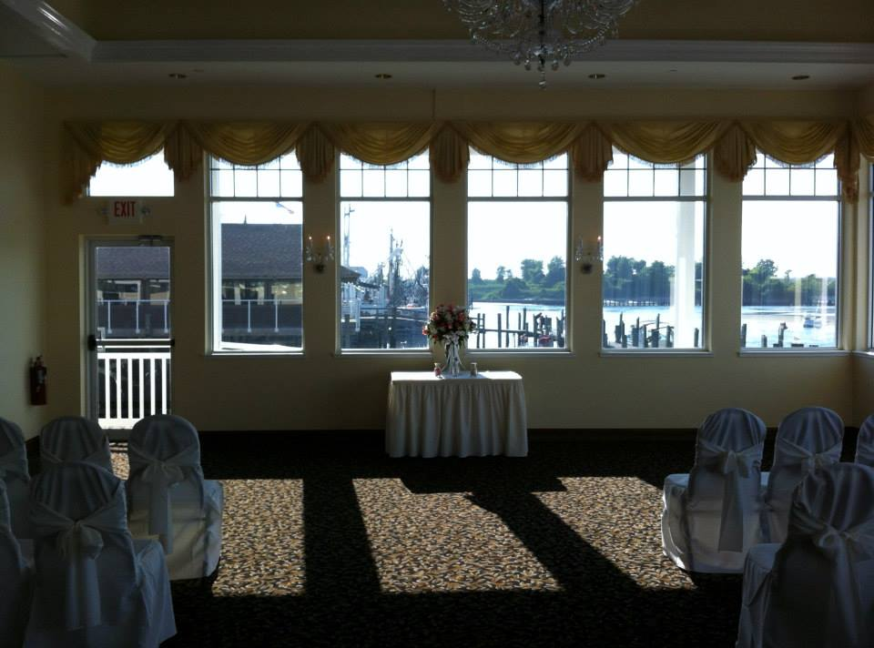 Wedding at The Sunset Ballroom Lobster Shanty by NJ Wedding Officiant Andrea Purtell For This Joyous Occasion