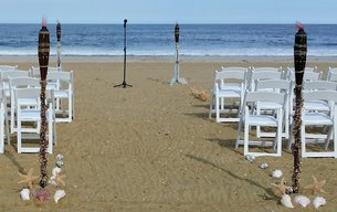 NJ Wedding Officiant Andrea Purtell wedding on Sea Girt Beach for Doolan's Shore Club www.forthisjoyousoccasion.com